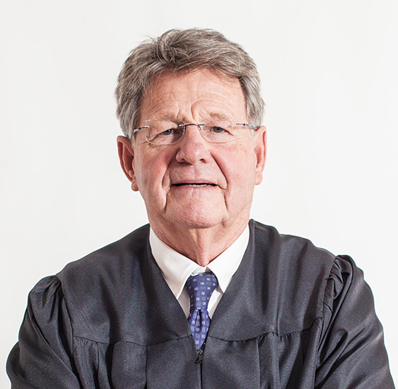 Photo of Presiding Justice Christopher Cottle (ret.)