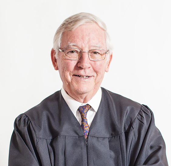 Photo of Justice William Stein (ret.)
